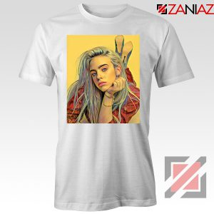 Billie Eilish Artist White Tshirt