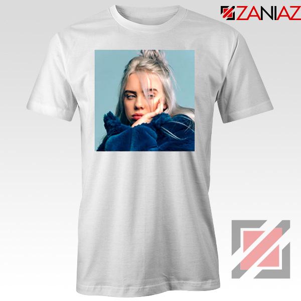 Billie Eilish Artist White Tshirt