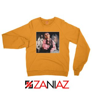 Billie Eilish Concert Tour Orange Sweater