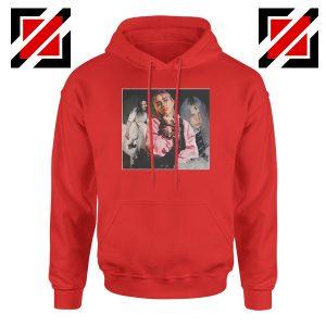 Billie Eilish Concert Tour Red Hoodie
