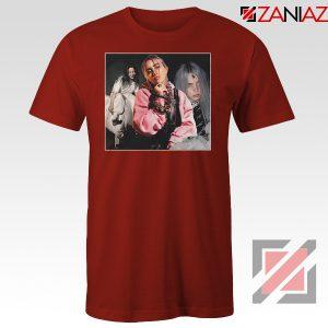 Billie Eilish Concert Tour Red Tshirt