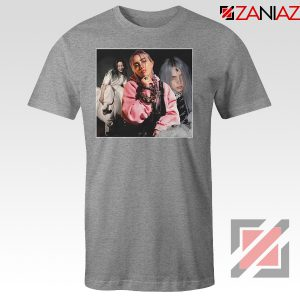 Billie Eilish Concert Tour Sport Grey Tshirt