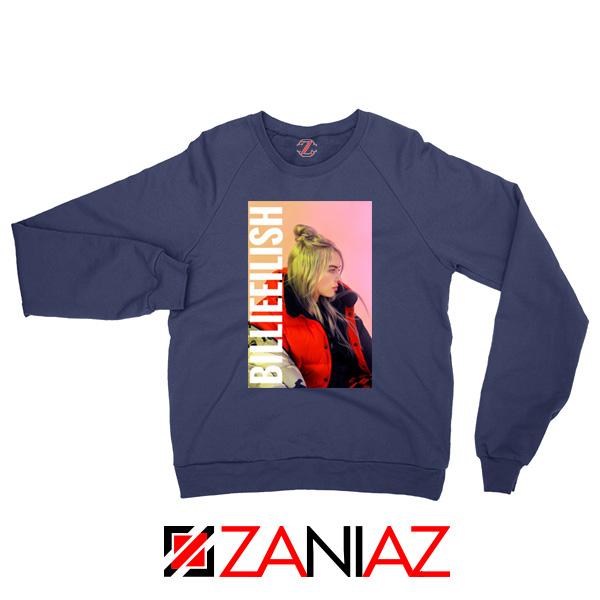 Billie Eilish Pirate Navy Blue Sweater