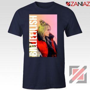 Billie Eilish Pirate Navy Blue Tshirt