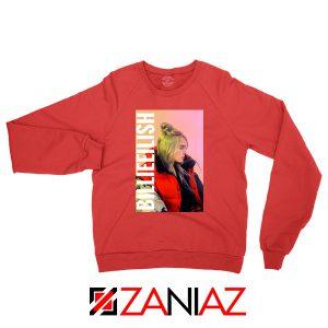 Billie Eilish Pirate Red Sweater