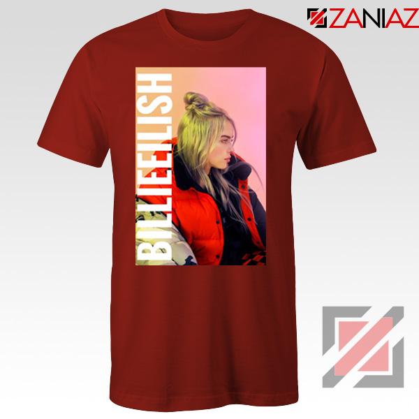 Billie Eilish Pirate Red Tshirt
