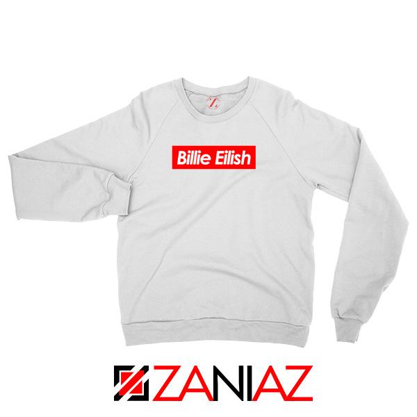 Billie Eilish Supreme Parody Sweater
