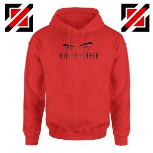 Billie Eilish Women Red Hoodie