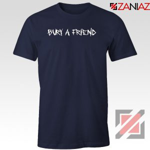 Bury a Friend Billie Lyrics Navy Blue Tshirt
