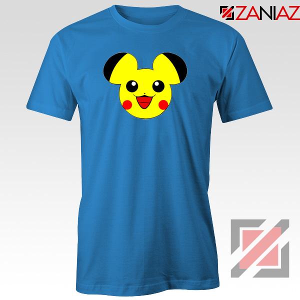Buy Pikachu Mickey Blue Tshirt