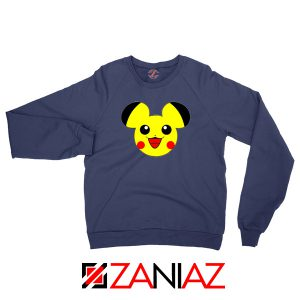 Buy Pikachu Mickey Navy Blue Sweater