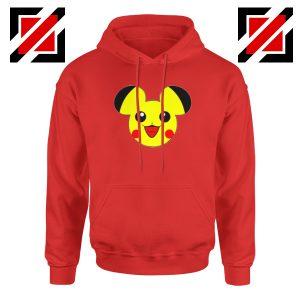 Buy Pikachu Mickey Red Hoodie