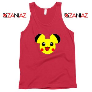 Buy Pikachu Mickey Red Tank Top