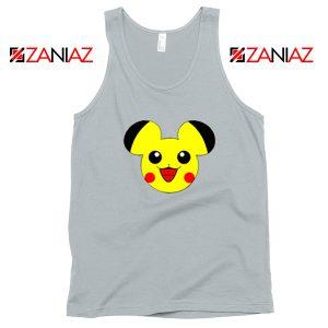 Buy Pikachu Mickey Sport Grey Tank Top