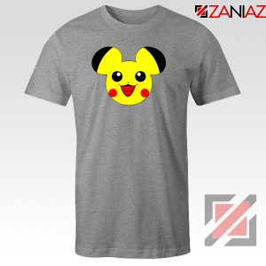 Buy Pikachu Mickey Sport Grey Tshirt