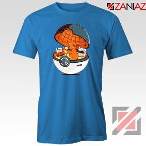 Charmander Pokemon Go Blue Tshirt