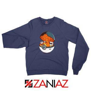 Charmander Pokemon Go Navy Blue Sweatshirt
