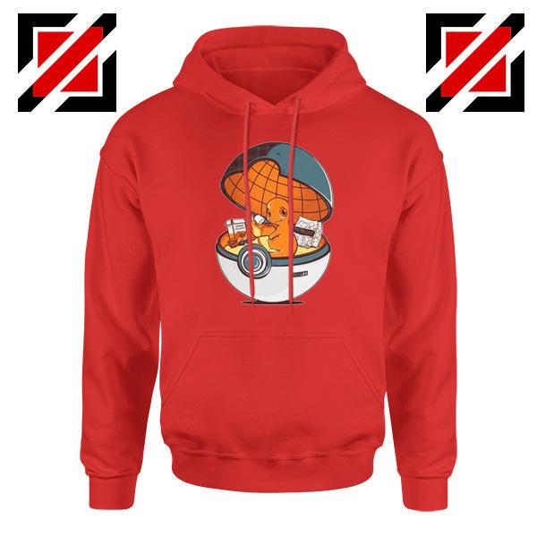 Charmander Pokemon Go Red Hoodie