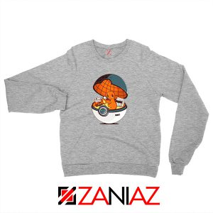 Charmander Pokemon Go Sport Grey Sweatshirt