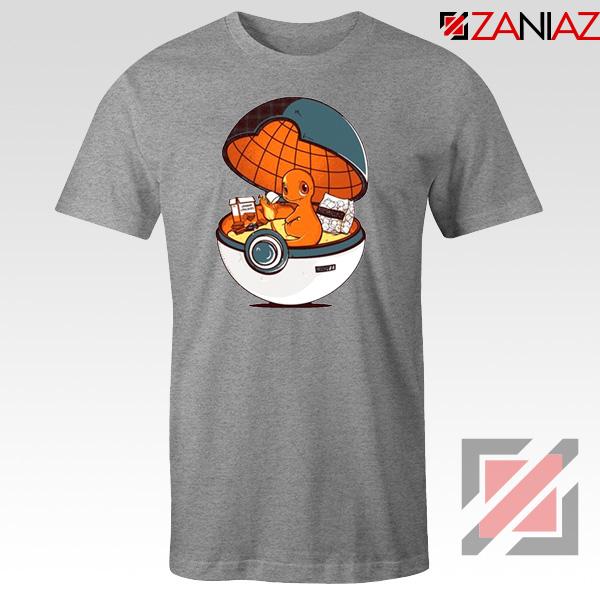 Charmander Pokemon Go Sport Grey Tshirt