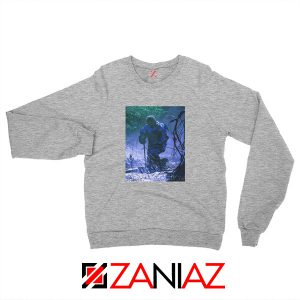 Circles Kneeling Post Malone Grey Sweatshirt