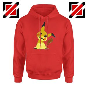 Cute Mimikyu Pikachu Red Hoodie