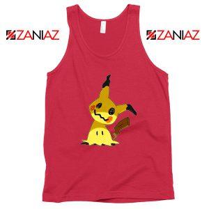 Cute Mimikyu Pikachu Red Tank Top