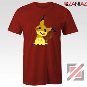 Cute Mimikyu Pikachu Red Tshirt