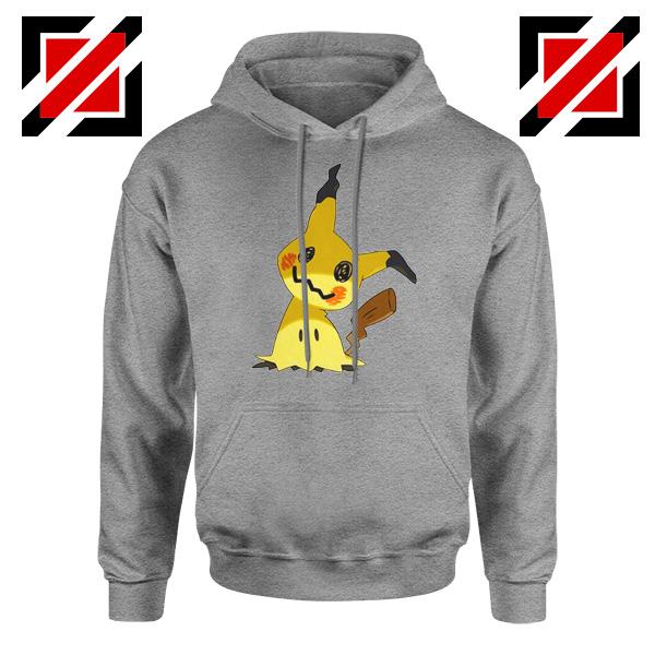 Cute Mimikyu Pikachu Sport Grey Hoodie