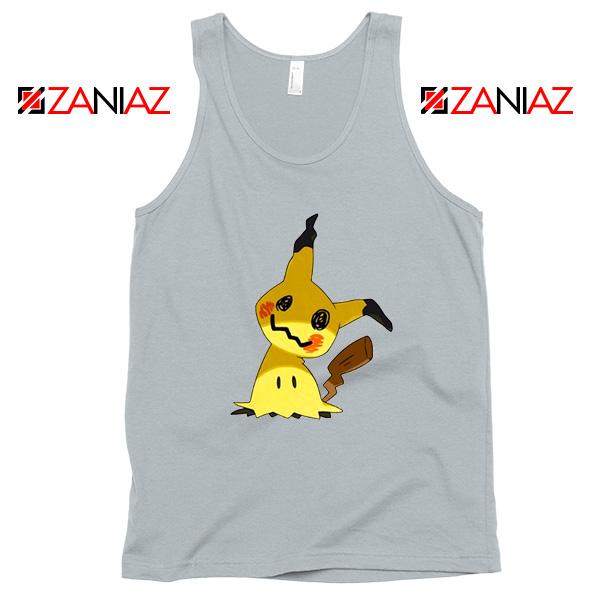 Cute Mimikyu Pikachu Sport Grey Tank Top