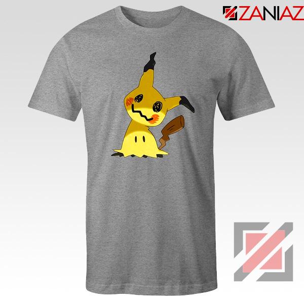 Cute Mimikyu Pikachu Sport Grey Tshirt