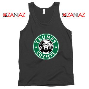Donald Trump Starbucks Black Tank Top