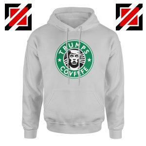 Donald Trump Starbucks Grey Hoodie
