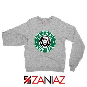 Donald Trump Starbucks Grey Sweatshirt