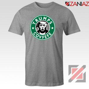 Donald Trump Starbucks Grey Tshirt
