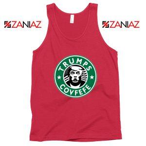Donald Trump Starbucks Red Tank Top