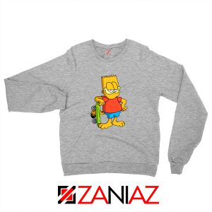 Garfield Simpson Grey Sweatshirt