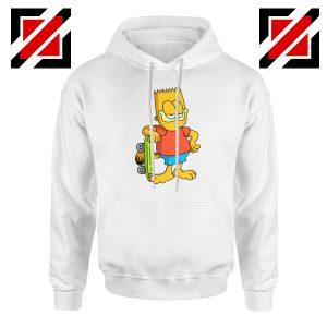 Garfield Simpson White Hoodie