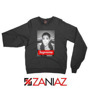 Graphic Ariana Grande Supreme Sweatshirt