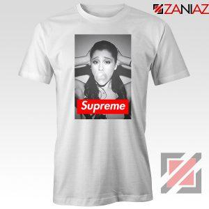 Graphic Ariana Grande Supreme White Tshirt