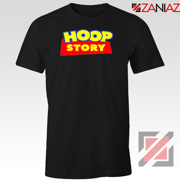 Hoop Story Funny Black Tshirt