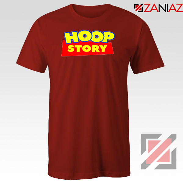Hoop Story Funny Red Tshirt