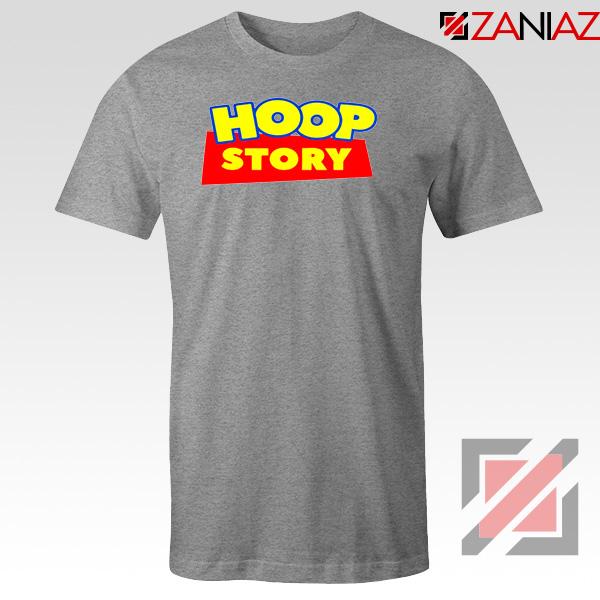 Hoop Story Funny Sport Grey Tshirt