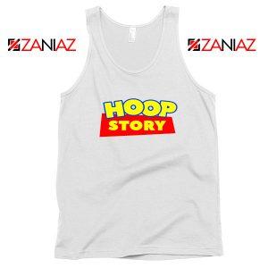 Hoop Story Funny White Tank Top