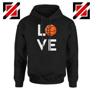 I Love Basketball Hoodie