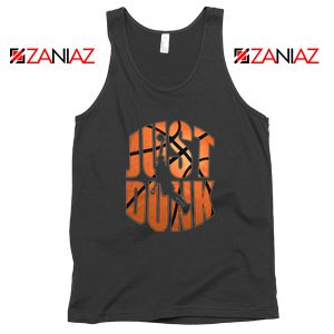 Just Dunk It Basketball Black Tank Top