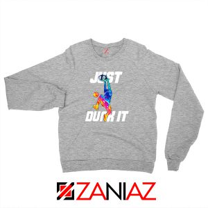 Just Dunk It Slam Dunk Sport Grey Sweater