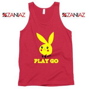 Play Go Pikachu Playboy Red Tank Top