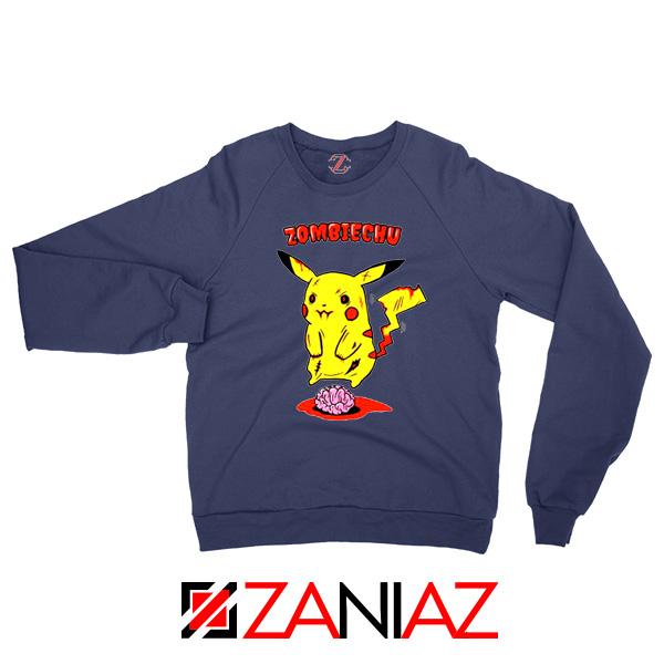 Pokemon Go Zombiechu Navy Blue Sweatshirt