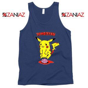 Pokemon Go Zombiechu Navy Blue Tank Top
